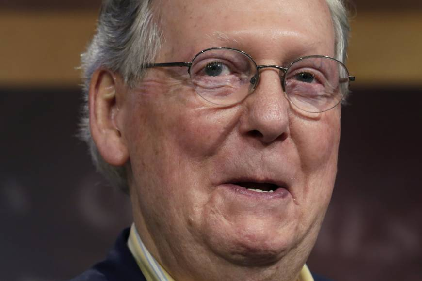 McConnell rules out TPP vote before Trump takes office