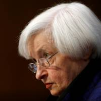 Yellen defends Fed independence, vows to stay put, upping rate hike speculation