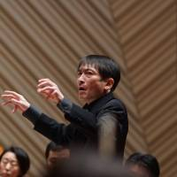 Heading things: Conductor Hisayoshi Inoue will lead the Jerusalem Symphony Orchestra in Tokyo on Nov. 21.