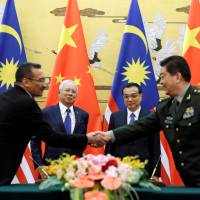 Malaysia signs 'landmark' deal to buy China warships
