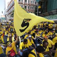 Thousands rally against Malaysian leader Najib; 15 detained