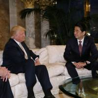 Abe wooed Trump with golf, just like his grandfather did with Eisenhower