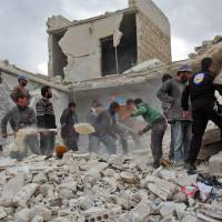 Syria regime, Russia bomb Aleppo as food runs out; hospitals believed targeted