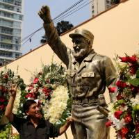 Despite Castro shunning statues and monuments, he still managed to become an icon