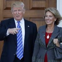 After diplomatic novice Haley, Trump taps 'anti-public ed' DeVos as other female in Cabinet
