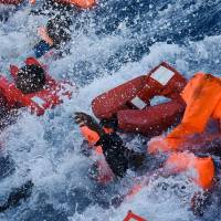 Survivors of two dinghy sinkings say 240 migrants drowned off Libya in two days