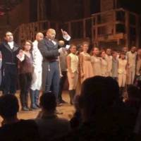Pence says no offense but Trump tweets anew demand for apology from 'Hamilton' cast