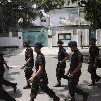 Indonesia nabs Islamic State-linked pair tied to Myanmar Embassy plot