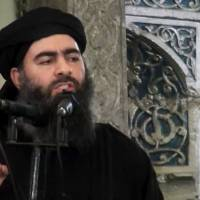 Islamic State chief believed left Mosul but tells holdouts to fight till death, 'wreak havoc'