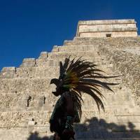 Original Kukulkan pyramid found at Chichen Itza site, Mexican experts say
