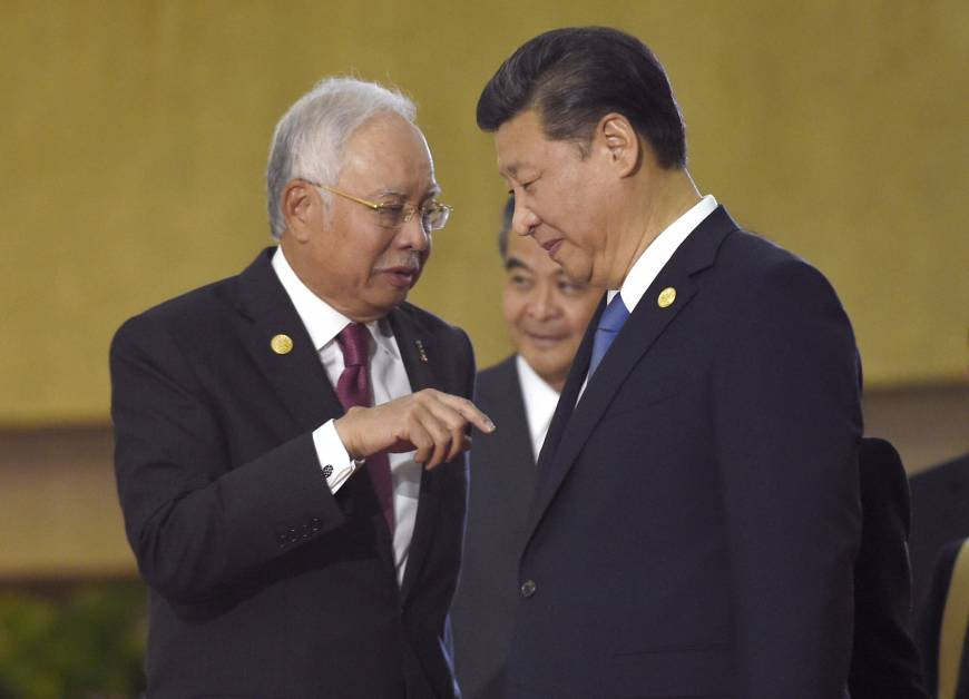Defense deal in the cards as Malaysia leader tilts toward China
