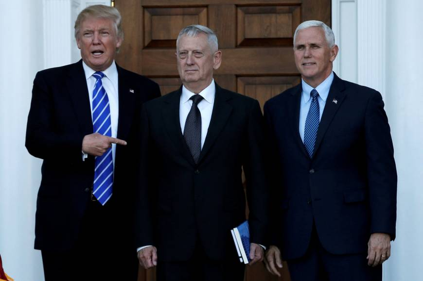 Trump wraps up weekend Cabinet search, but reveals no new picks