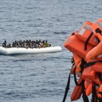 100 migrants feared drowned, almost 300 rescued from heavy seas off Libya