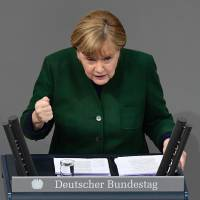 Germany's Merkel 'not happy' about dim prospects of TPP trade pact