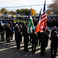Cops turn out in thousands to honor slain NYC sergeant
