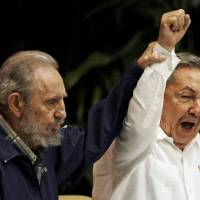 Raul Castro, stepping from Fidel's towering shadow