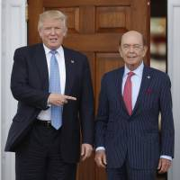 Trump taps billionaire investor Ross for commerce secretary