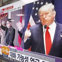Trump insists he 'never said' Japan, South Korea should go nuclear