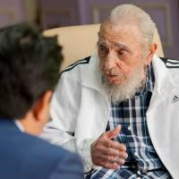 Abe offers Cuba condolences on death of 'prominent leader' Castro
