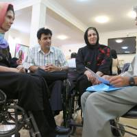 Iranian paraplegic pays Japanese kindness forward to disabled people back home