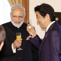 Modi inspects bullet train plant after agreeing to shinkansen deal