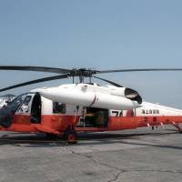 The Maritime Self-Defense Force is looking to replace its fleet of UH-60J helicopters, which are used for rescue missions. | KYODO