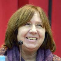 Nobel-winning Belarusian writer Alexievich speaks on nuclear disasters and the future of human hubris