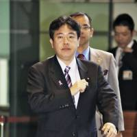 Okinawa minister returns payments for tickets to fundraiser