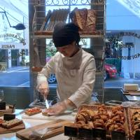 More than pastry: Tartine sandwiches are prepared at Rituel. | ROBBIE SWINNERTON