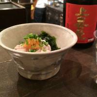 Perfect with a tipple: The seasonal dishes at Gem by Moto, such as shirako (cod milt), are all intended to be paired with premium sake. | ROBBIE SWINNERTON