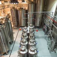 Small-scale and independent: The Kyoto Distillery is housed in a refurbished warehouse a short drive from central Kyoto.   COURTESY OF THE KYOTO DISTILLERY