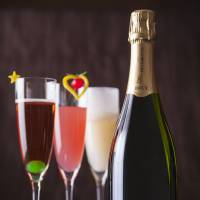 Sipping Champagne in the night sky; Boogie on down to sweet grooves; accommodation amenities on offer