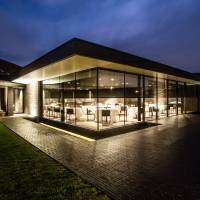 Barn space: The outside of restaurant Hertog Jan, which is located in a refurbished barn.