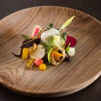Walk this way: A garden sallad called 'A Walk through the Garden,' which is served at Hertog Jan.