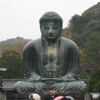 Main attraction: Kamakura's famed giant Buddha is 13 meters tall. | CREATIVE COMMONS