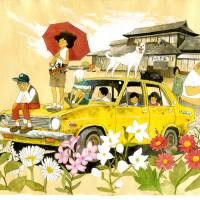 """Forever young: In Taiyo Matsumoto's autobiographical manga 'Sunny,' a group of foster kids retreat to an abandoned car to escape their difficult lives. 
