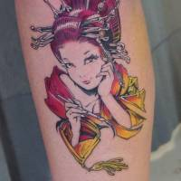 Skin as canvas: Invasion Club customers sport some of Hori Benny's recent works. His 'otattoo' style bridges the worlds of pop culture and tattooing. | COURTESY OF HORI BENNY