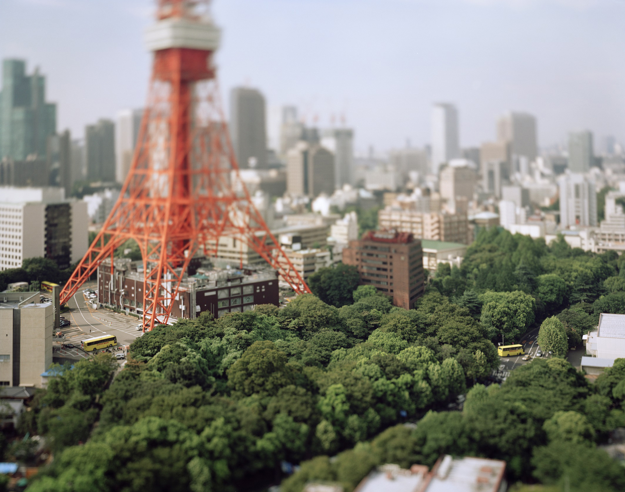 Naoki Honjo's 'Tokyo Tower, Tokyo, Japan' from 'Small Planet' (2005)