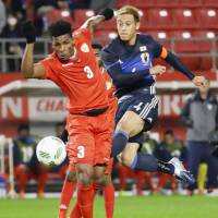 Honda sweats on place in World Cup qualifier against Saudis