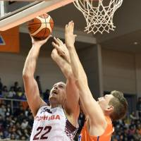 Fazekas powers Brave Thunders past Albirex