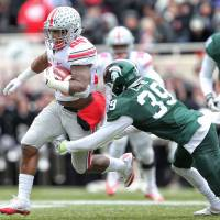 Ohio State holds on for win over Michigan State