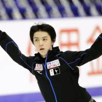 Hanyu ready to take center stage at NHK Trophy