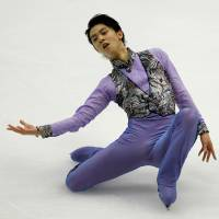 Olympic champion Yuzuru Hanyu, who won the NHK Trophy on Saturday night in Sapporo, is in top form heading into next week's Grand Prix Final in Marseille, France. | REUTERS