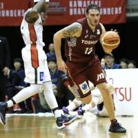 Kawasaki's Spangler adapting to B. League
