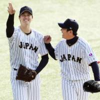 Samurai Japan has first practice ahead of four-game series