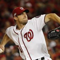 Nationals' Scherzer, Red Sox hurler Porcello win Cy Young Awards