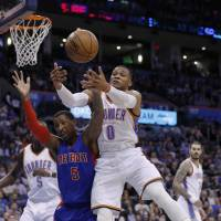 Westbrook too much for Pistons to handle