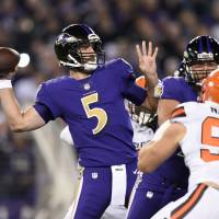 Lowly Browns fall to 0-10 after getting thrashed by Ravens