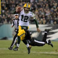 Packers snap skid with victory over Eagles
