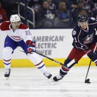 Blue Jackets crush Habs 10-0